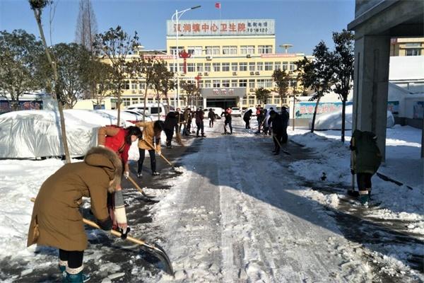 汊涧镇组织志愿者打通 生命通道 -天长先锋网